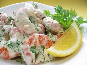 Американские блюда из морепродуктов