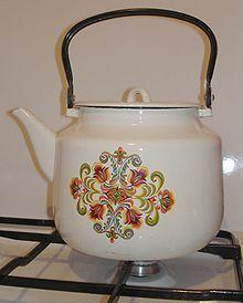 Роль чайника на кухне