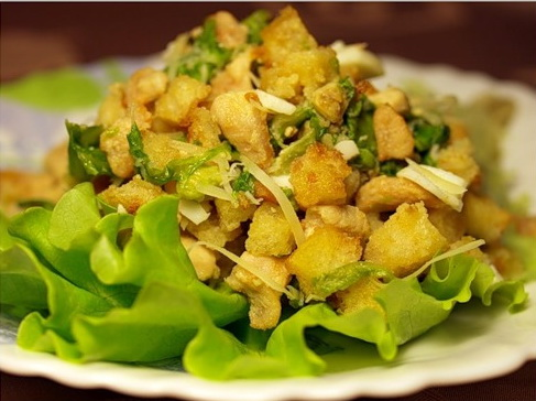 Как приготовить салат из грибов шиитаке