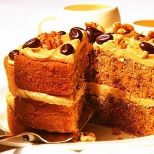 Нежный торт с суфле