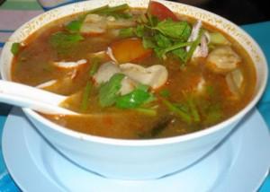 Рыбный суп по-гански.