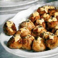 Картофель с яйцами, приготовленные в духовом шкафу
