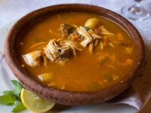 Как готовить африканский куриный суп