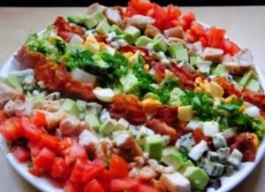 Американский салат «Кобб»