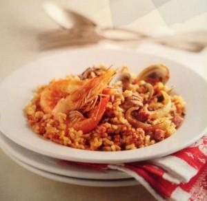 Рецепты Каталонии. Рис по-барселонски.