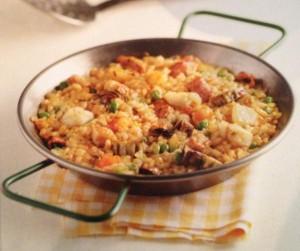 Рецепты Каталонии. Рис парельяда.